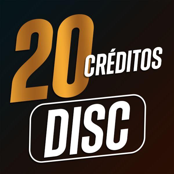 Imagem principal do produto 20 Créditos DISC