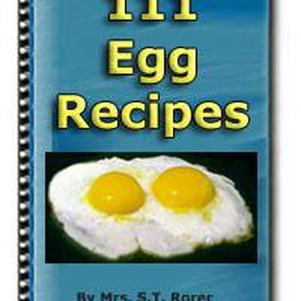 Imagem principal do produto 111 EGG Recipes COOKING OF EGGS