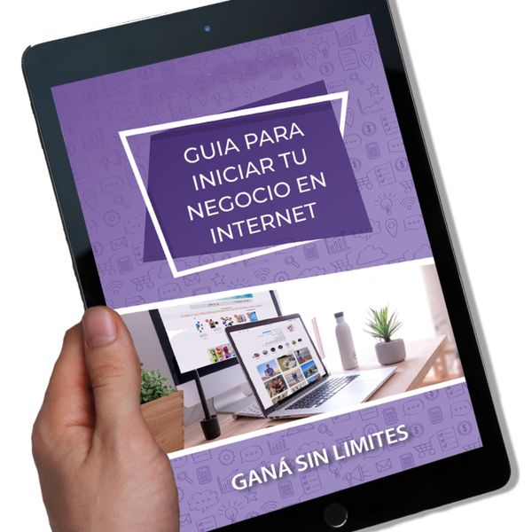 Imagem principal do produto GUIA PARA INICIAR TU NEGOCIO EN INTERNET