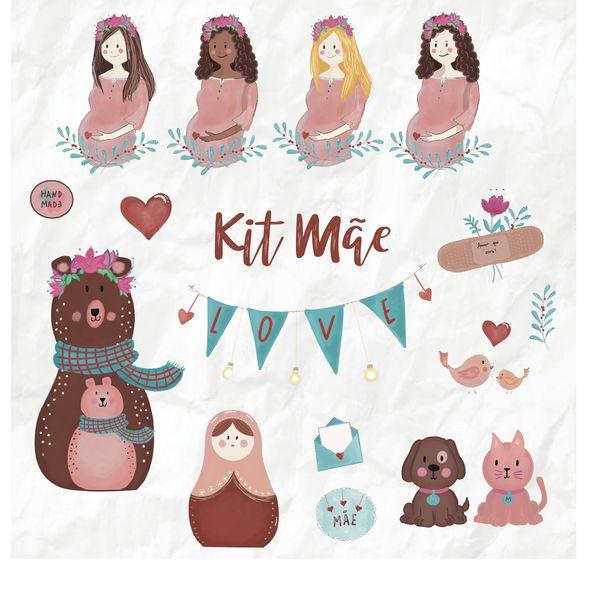 Imagem principal do produto Kit Digital Dia das Mães