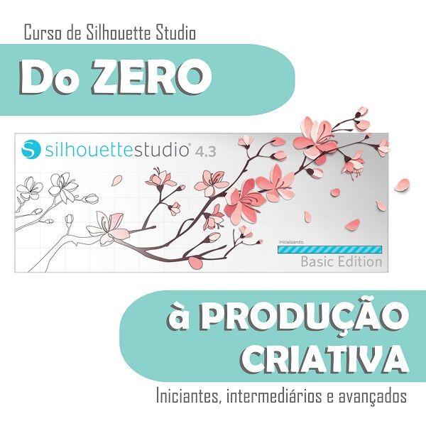 Imagem principal do produto Curso de Silhouette do Zero à Produção Criativa
