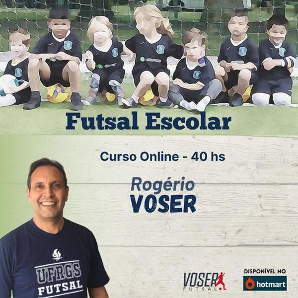 Imagem principal do produto CURSO ONLINE - FUTSAL ESCOLAR - 40HS