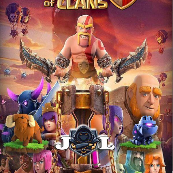Imagem principal do produto Manual Clash of Clans