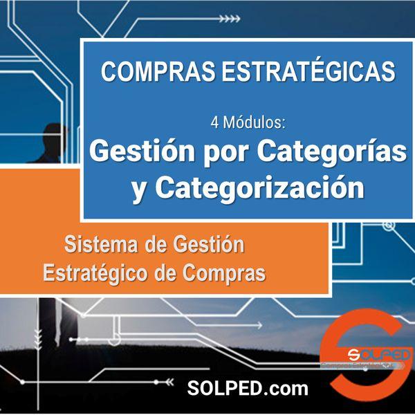 Imagem principal do produto Compras Estratégicas: Gestión de Categorías y Categorización / Sistema de Gestión Estratégico de Compras (1/4)