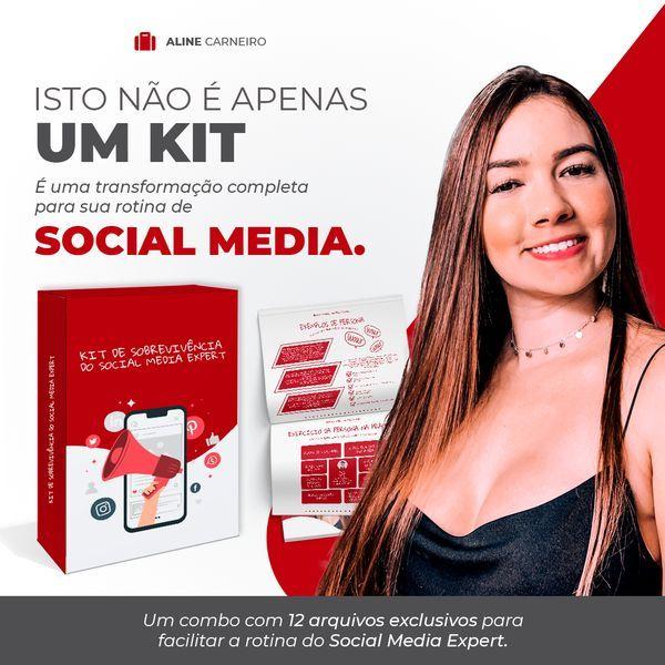 Imagem principal do produto Kit de Sobrevivência do Social Media Expert