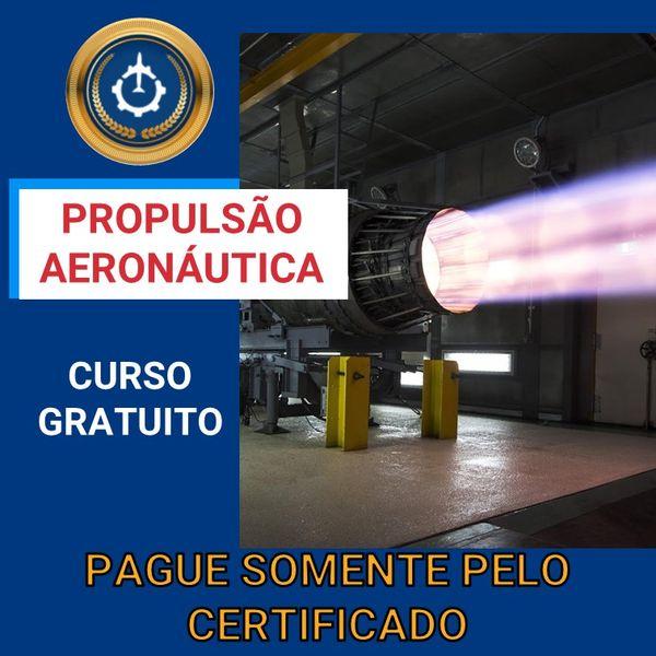Imagem principal do produto Curso Gratuito de Propulsão Aeronáutica