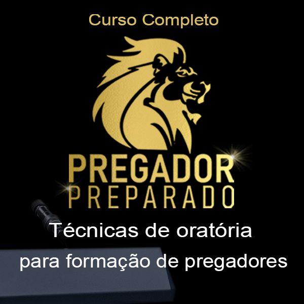 Imagem principal do produto Curso Pregador Preparado