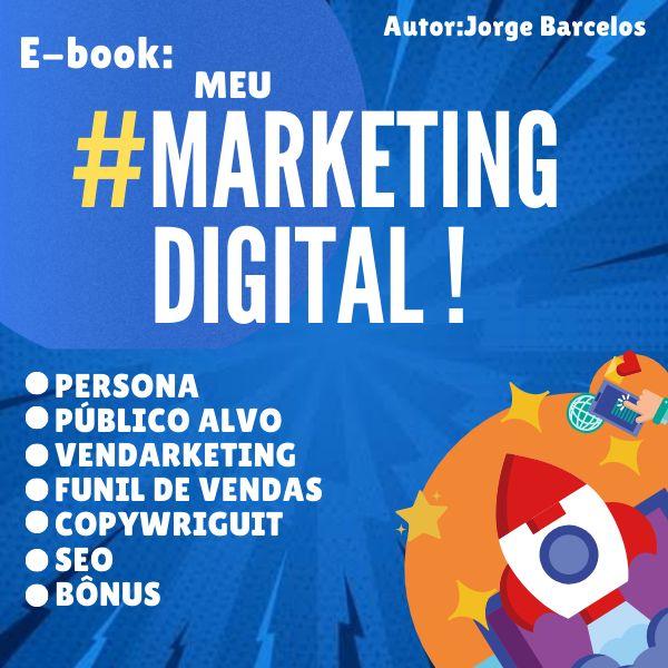 Imagem principal do produto E-book : Meu marketing Digital