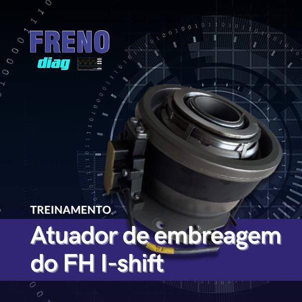 Imagem principal do produto Atuador de embreagem do FH  I-shift