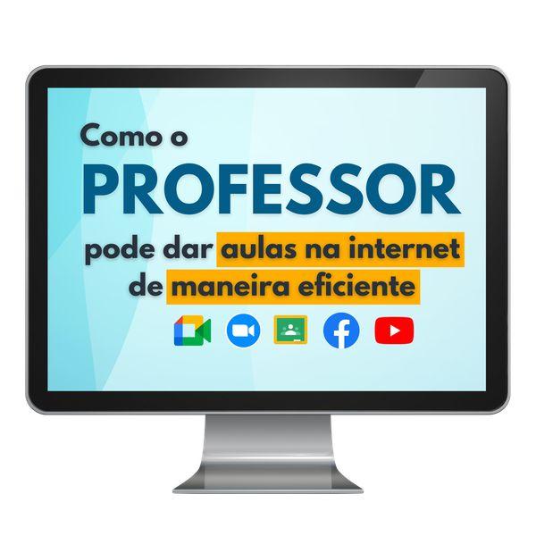 Imagem principal do produto Como dar aulas na internet de maneira eficiente