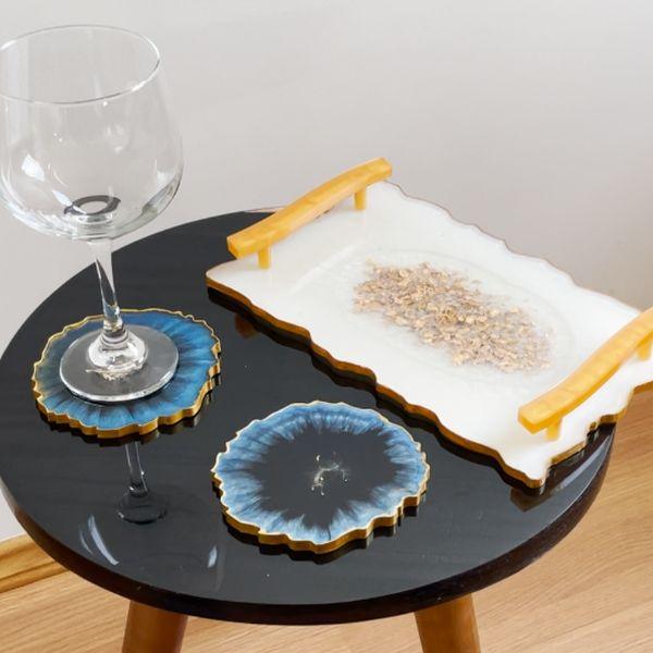 Imagem principal do produto Curso Online Geodas de Resina
