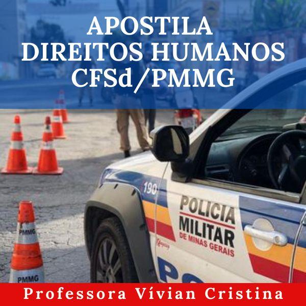 Imagem principal do produto APOSTILA DIREITOS HUMANOS CFSd/PMMG