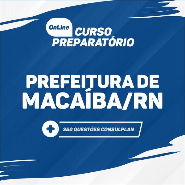 Imagem principal do produto Curso Prefeitura de MACAÍBA/RN - ISOLADO PORTUGUÊS