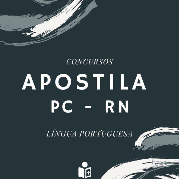 Imagem principal do produto Apostila Português PC - RN
