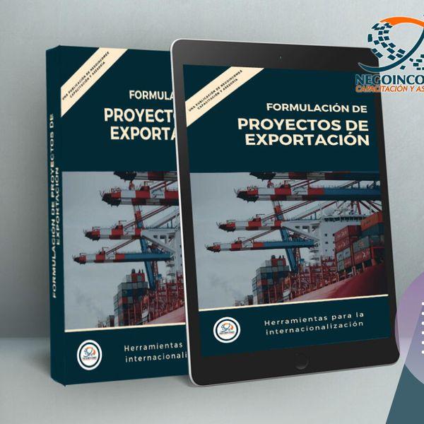 Imagem principal do produto Formulación de Proyectos de Exportación