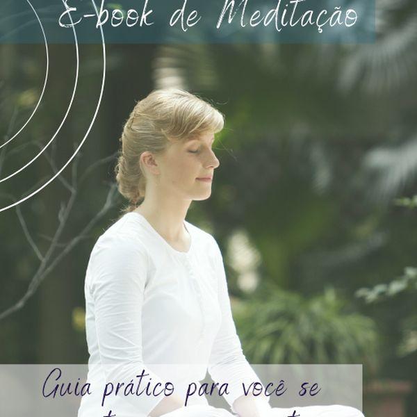 Imagem principal do produto E-book de Meditação