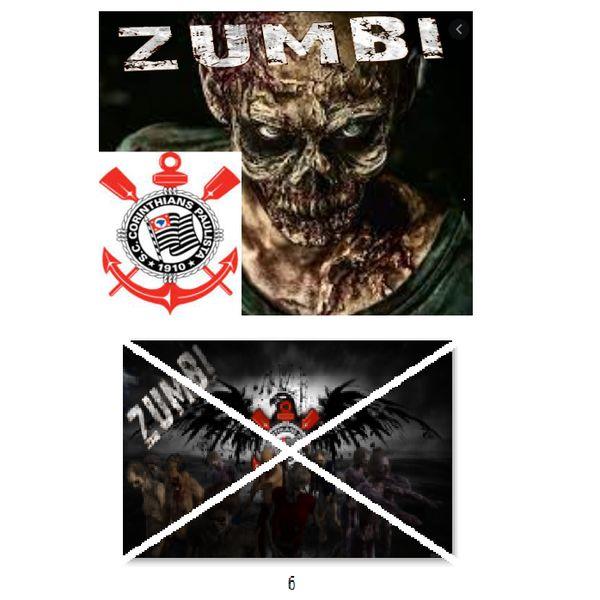 Imagem principal do produto Corinthians zumbi foto para estampar camisetas 6