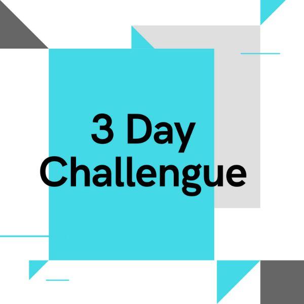 Imagem principal do produto 3 Day Challengue