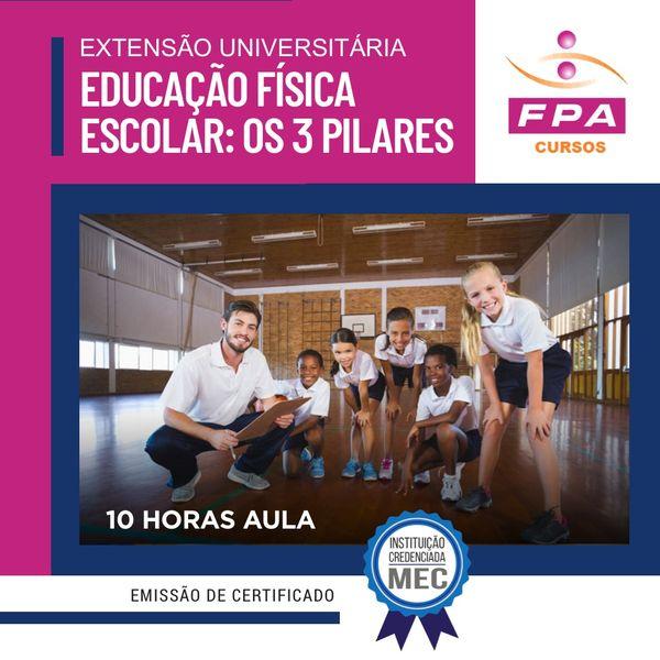 Imagem principal do produto Extensão Universitária: Educação Física Escolar Infantil, os 3 pilares motores -Prof. José Lucimério Leite da Silva – Zé Leite CREF 140862-G/SP