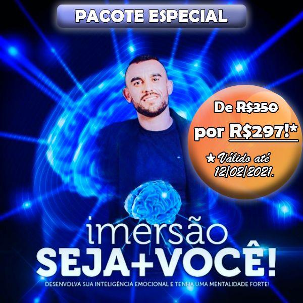 Imagem principal do produto Imersão Seja + Você! - Pacote Especial