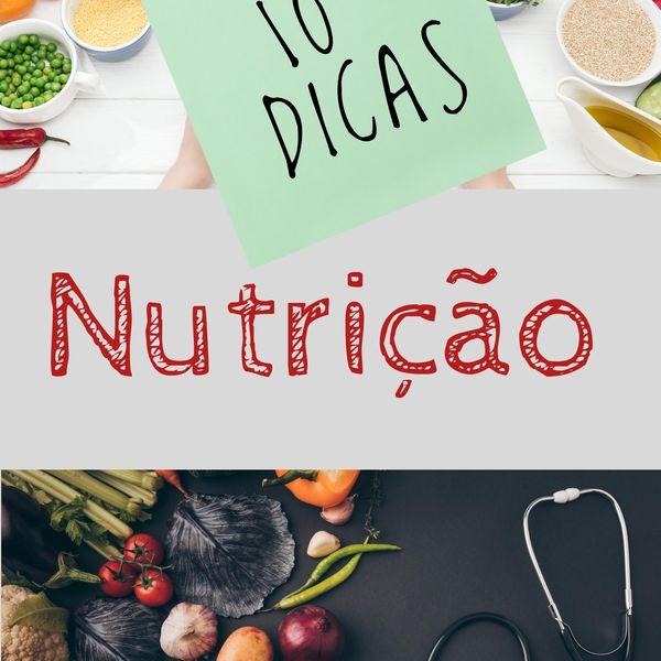 Imagem principal do produto 10 DICAS DE NUTRIÇÃO