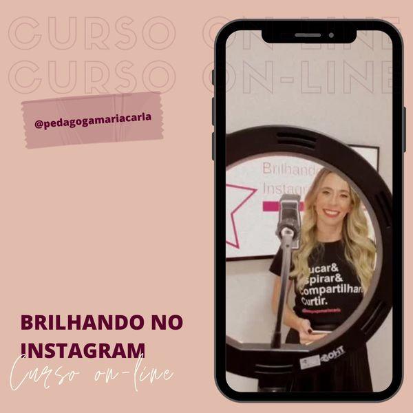 Imagem principal do produto Brilhando no Instagram