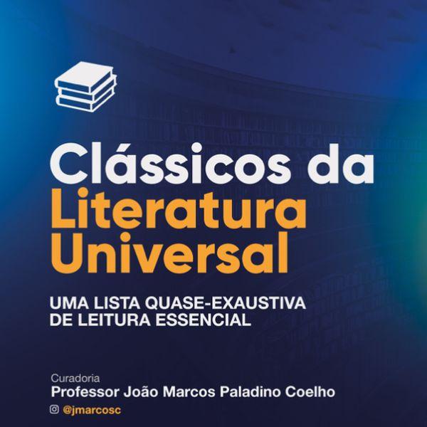 Imagem principal do produto Lista de Leitura dos Clássicos da Literatura Universal
