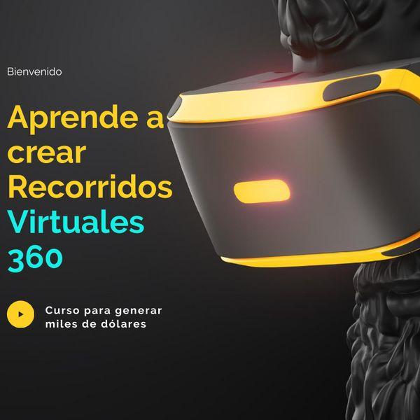 Imagem principal do produto Crea Tours Virtuales 360 (VR360) profesionales