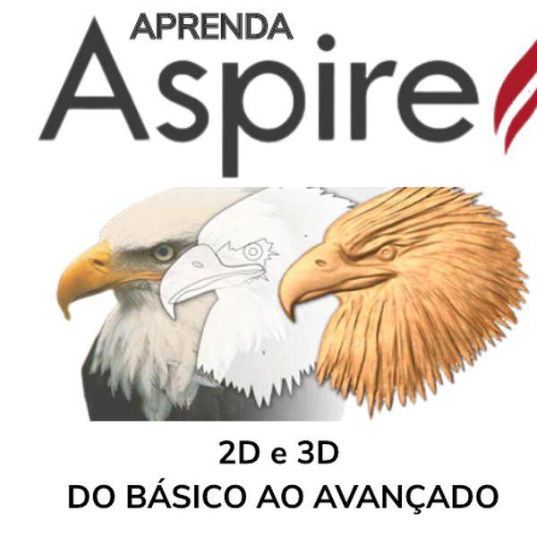 Imagem principal do produto APRENDA ASPIRE CNC