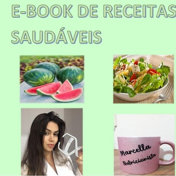 Imagem principal do produto EBOOK DE RECEITAS SAUDÁVEIS QUE AJUDARÁ A MUDAR O SEU CORPO