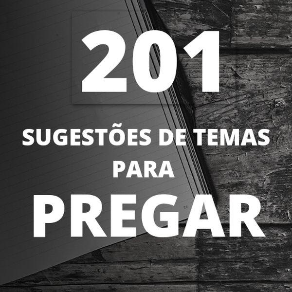 Imagem principal do produto 201 Sugestões de temas para pregar