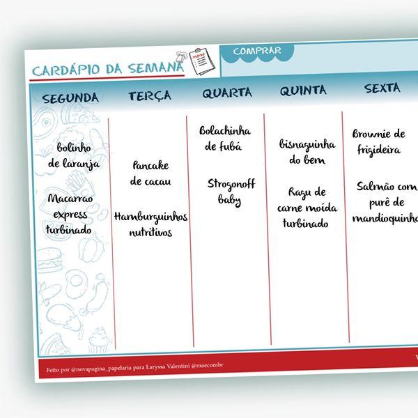 Imagem principal do produto CARDÁPIO FISICO (RECEBA EM CASA)