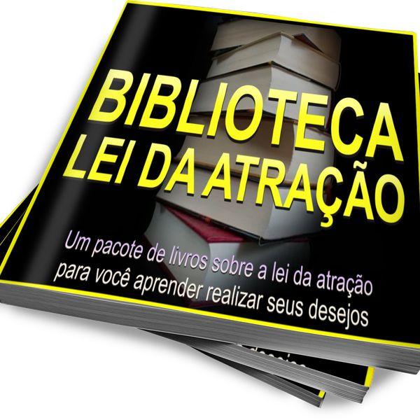 Imagem principal do produto BIBLIOTECA LEI DA ATRAÇÃO