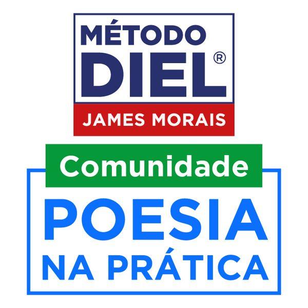 Imagem principal do produto James Morais   Método DIEL   Comunidade Poesia na Prática