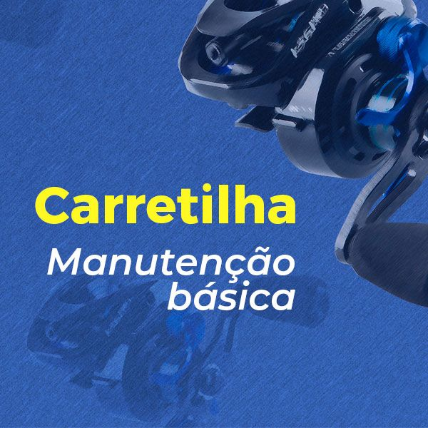 Imagem principal do produto Carretilha - Manutenção básica