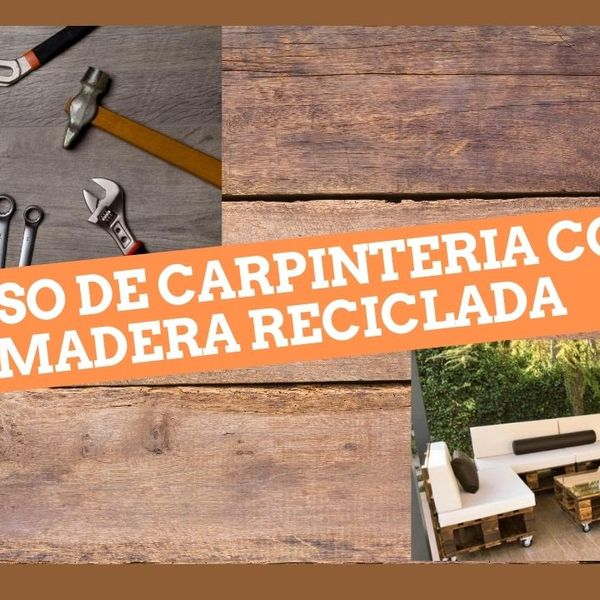 Imagem principal do produto Crea tus muebles con madera reciclada