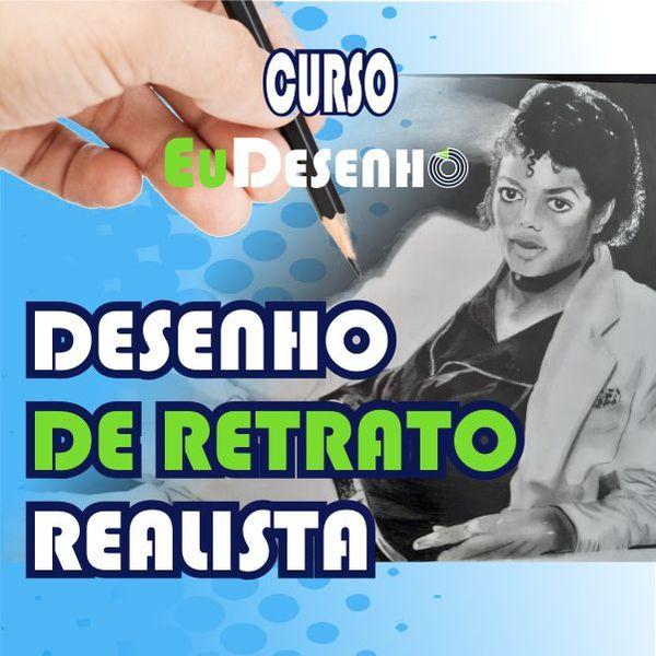 Imagem principal do produto DESENHO DE RETRATO REALISTA