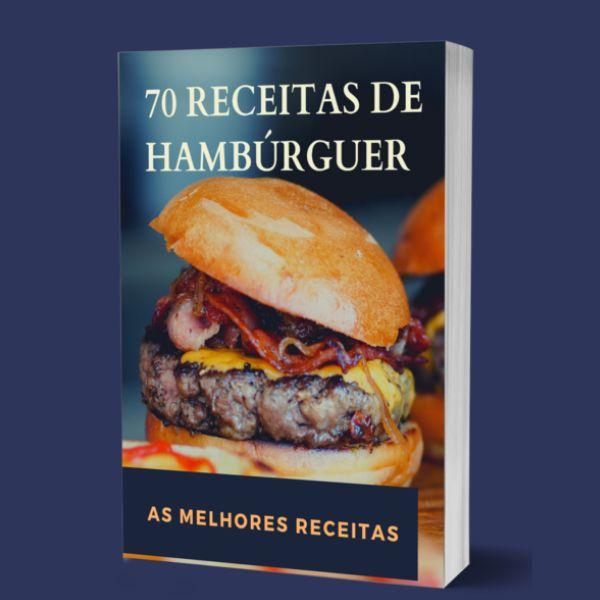 Imagem principal do produto 70 Receitas De Hambúrguer
