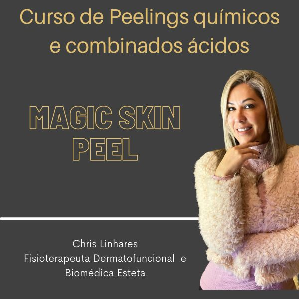 Imagem principal do produto Curso de Peelings Químicos Magic Skin Peel