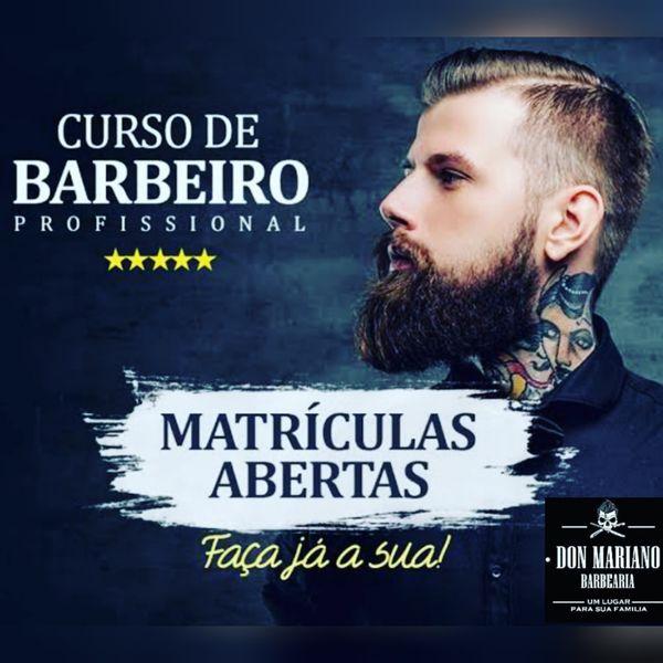 Imagem principal do produto Curso de barbeiro com certificado nacional