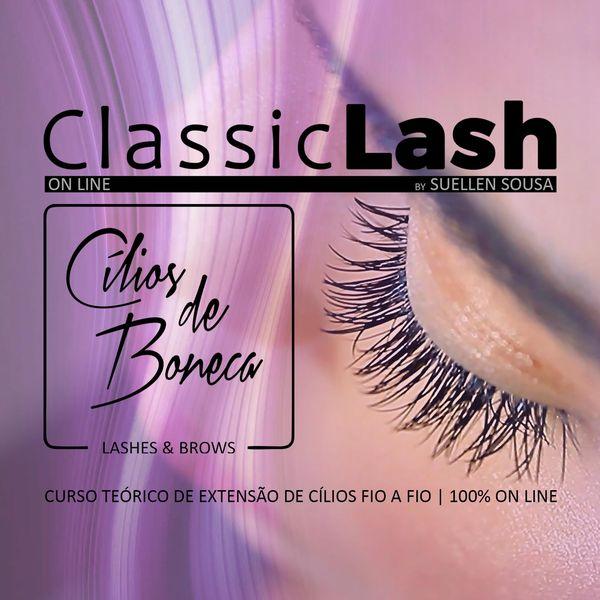 Imagem principal do produto Extensão de Cílios CLASSIC LASHES - by Cílios de Boneca