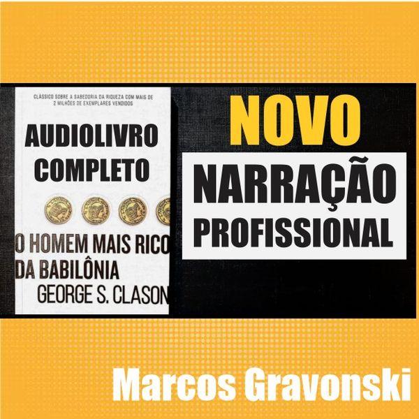 Imagem principal do produto Audiolivro Profissional - O Homem Mais Rico da Babilônia
