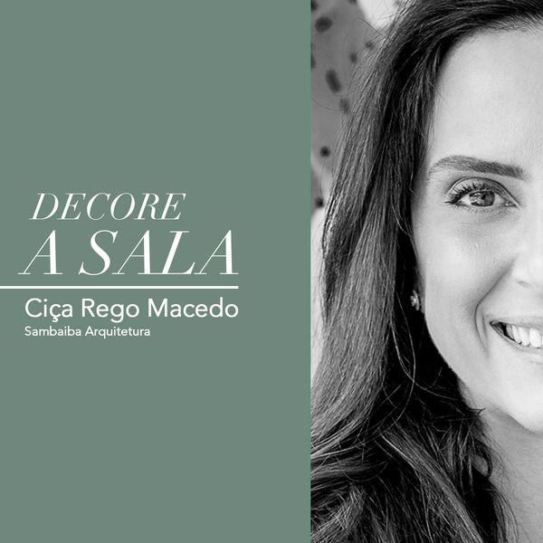 Imagem principal do produto DECORE A SALA - Ciça Rego Macedo - Sambaiba Arquitetura