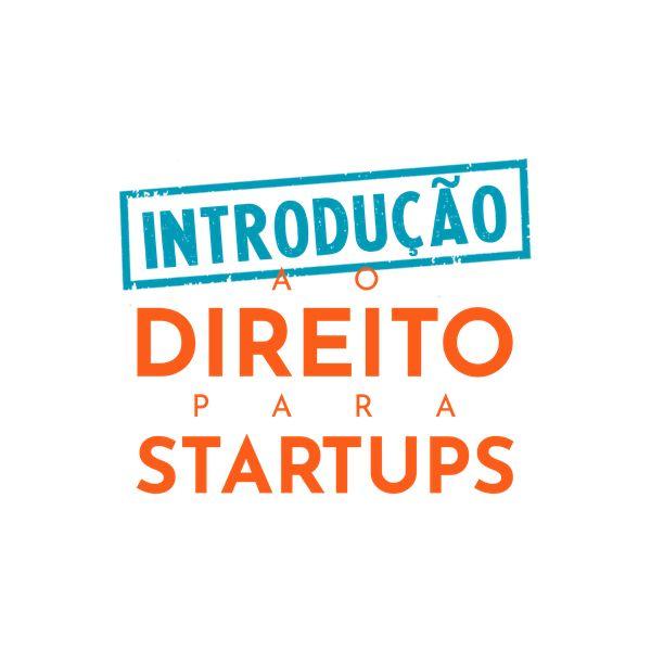 Imagem principal do produto Introdução ao Direito para Startups
