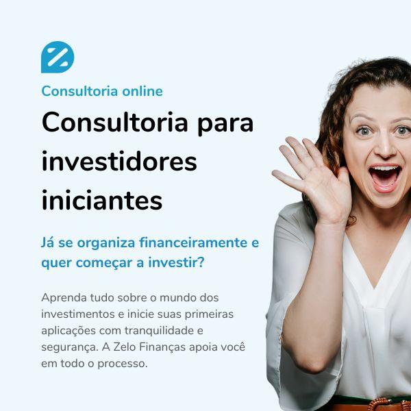Imagem principal do produto Consultoria para Investidores Iniciantes