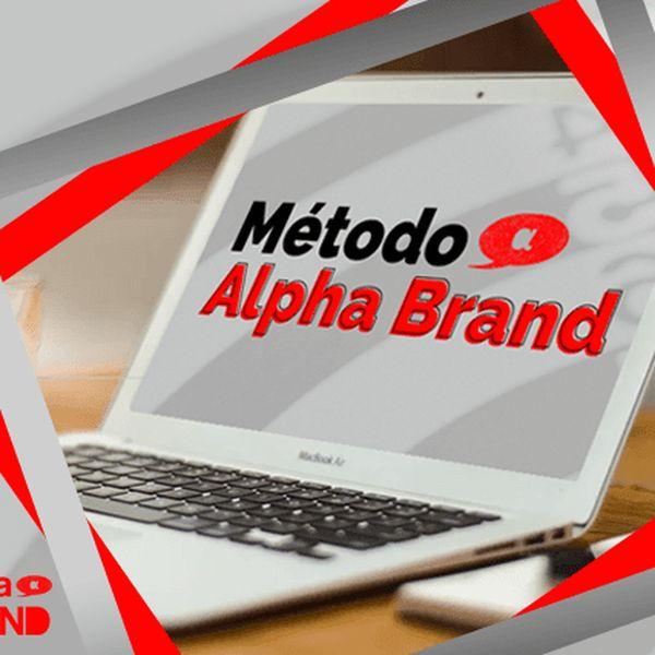 Imagem principal do produto Curso Alpha Brand