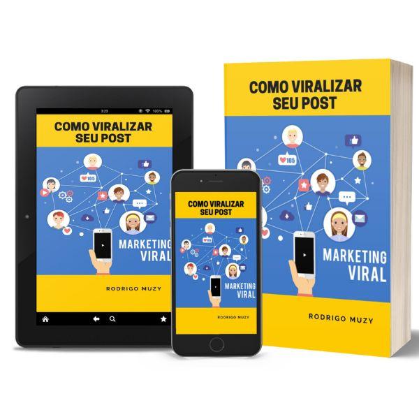Imagem principal do produto COMO VIRALIZAR SEU POST - MARKETING VIRAL