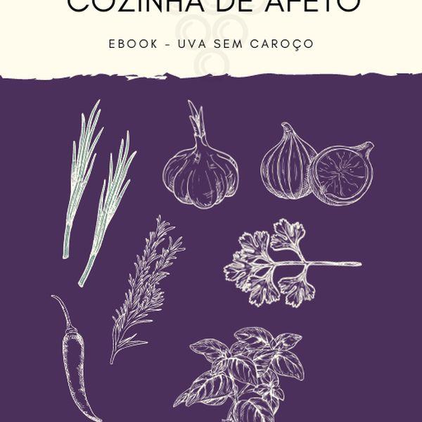 Imagem principal do produto eBook Cozinha de afeto