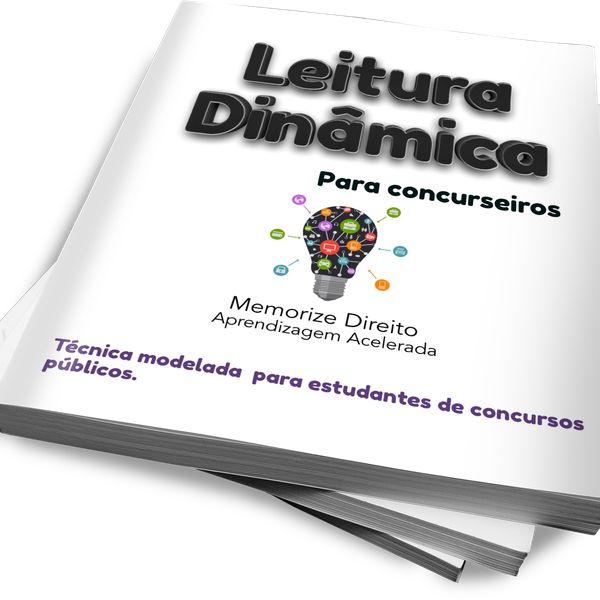 Imagem principal do produto LEITURA DINÂMICA PARA CONCURSOS PÚBLICOS