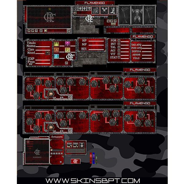 Imagem principal do produto Flamengo Skin
